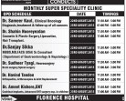 FLORENCE HOSPITAL MONTHLY SUPER SPECIALITY CLINIC (Apollo Delhi)