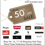 Flat 50% off on big  brand in Srinagar