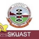 SRF vacancies in SKUAST kashmir