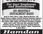 Installments Scheme For Govt Employees and Businessmen