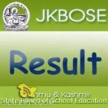JKBOSE Class 10th Result Bi Annual 2016 Kashmir Division