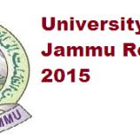 Jammu University Results Notifications