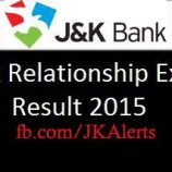 J&K Bank Relationship Executive RE Selection List