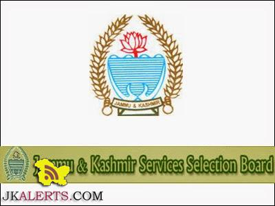 JKSSB Jr Assistant Supplementary list of candidates called for type test on Computer Key Board,