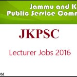 JKPSC syllabus for the post of 10+2 lecturer
