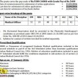 Medical Officer Jobs Health & Medical Education Department JKPSC Recruitment 2016