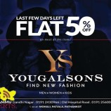 Yougal Sons Flat 50% sale on Men Women and kids wear Mohali Patiala Pathankot Jammu