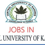 Central University of Kashmir CUK Assistant Professor Recruitment 2017