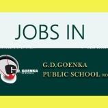 G.D.GOENKA PUBLIC SCHOOL JAMMU RECRUITMENT 2018