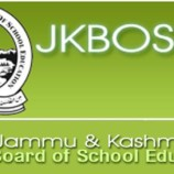 JKBOSE Date Sheet For Secondary School Examination (Class 10th) Kashmir