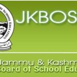 JKBOSE Class 12th Result, Annual 2016 (Private) – Kashmir
