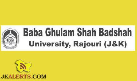 Baba Ghulam Shah Badshah University Common Entrance Test CET for B.Tech 2016-17