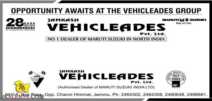 Project at Jamkash Vehicleades