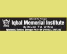 Urdu Teachers jobs in Iqbal Memorial Institute, Private jobs in Srinagar