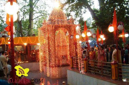 Mela Kheer Bhawani - Kheer Bhawani Temple in Kashmir