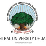 Central University of Jammu Walk in Interview