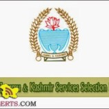 JKSSB Notice Regarding Type and Short Hand Test for  Junior Stenographer,Junior Scale Stenographer, Junior Assistant