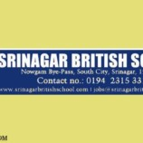 Jobs in Srinagar British School