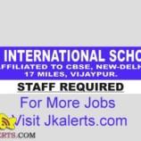 MV INTERNATIONAL SCHOOL RECRUITMENT