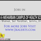 MADR-E-MEHARBAN CAMPUS OF HEALTH SCIENCES JOBS
