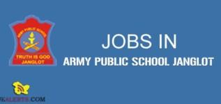 Teaching Jobs in APS Janglot Kathua