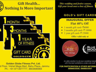 Gold Gym Gold's Gift cards
