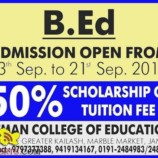 B.Ed ADMISSION OPEN  ATMAN COLLEGE OF EDUCATION JAMMU WITH SCHOLARSHIP