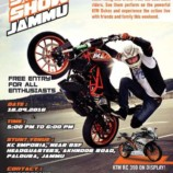 KTM Stunt Show Jammu Free Entry for all