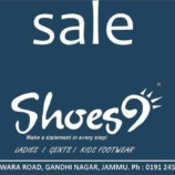 Shoes9 Sale Ladies Gents and Kids footwear Flat 60% off