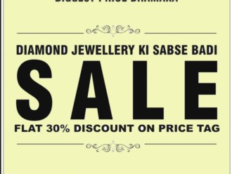 Silverlines Diamond Jewellery Sale Flat 30% off