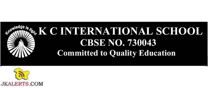 K C INTERNATIONAL SCHOOL JOBS