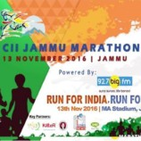 6th CII Jammu Marathon Run for India! Run for Pride
