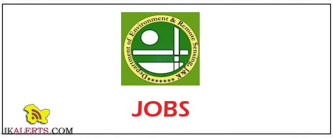 Jobs in Dept of Ecology Environment and Remote Sensing