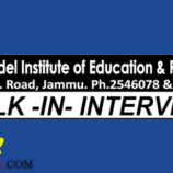 Model Institute of Education & Research MIER Jobs