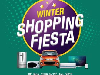 Wave Mall, Jammu Winter Shopping Fiesta with lots of offers and prizes to be won!