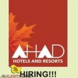 Jobs at Ahad Hotels and Resorts