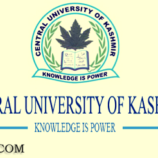 Central University of Kashmir CUK written test syllabus for System analyst and Information Scientist