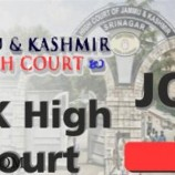 SELECTION LIST HIGH COURT OF J&K