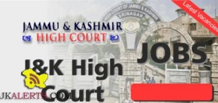 Steno Typist and Junior Assistant Jobs in High Court of Jammu and Kashmir