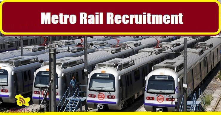 Metro Railway Corporation Junior Engineer, Station Controller, Maintainer Recruitment 2017