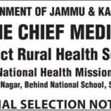 NHM Selection list X-Ray Technician, Allopathic Pharmacist,Jr. Staff Nurse, Lab Tech