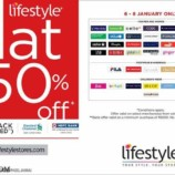 Lifestyle Flat 50% off Wave Mall Jammu