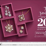 Tanishq upto 20% off on Diamond jewellery