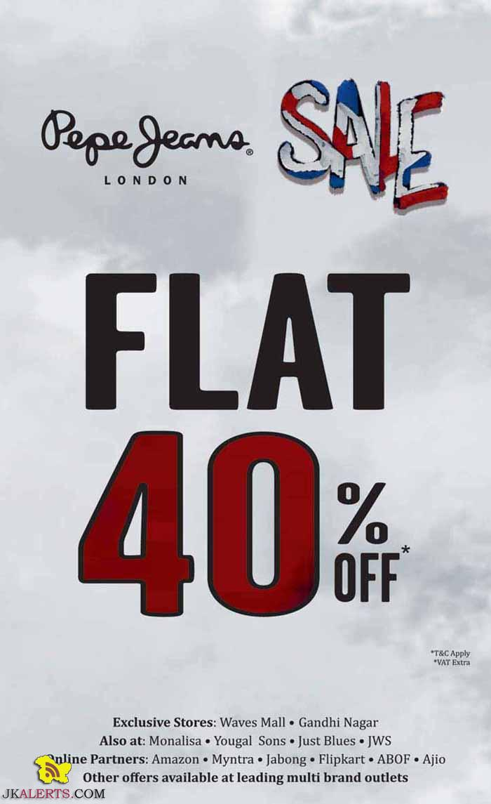 Pepe Jeans Flat 40% off