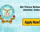 Air Force School Jammu Recruitment 2018
