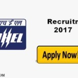 Bharat Electronics Limited Recruitment 2017 66 Probationary Engineer Posts