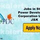 J&K State Power Development Corporation Limited JKSPDC Jobs
