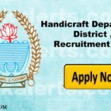Jobs in Handicraft Department District , Class ivth Recruitment 2017