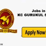 Jobs in KC Gurukul Public School Paloura Jammu