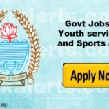 Youth Services and Sports Rehbar-e-khel Recruitment 2018 |142  posts